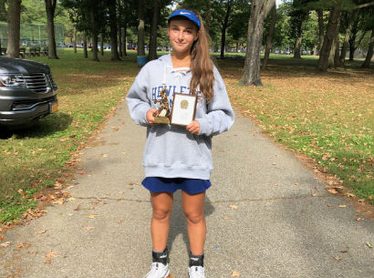 HHS Sophomore Wins Tennis Championship