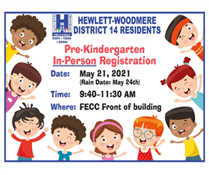 In Person Registration for PreK
