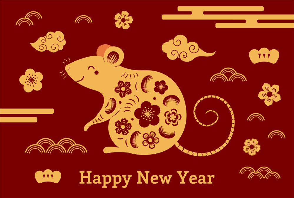 Happy New Year, Year of the Rat