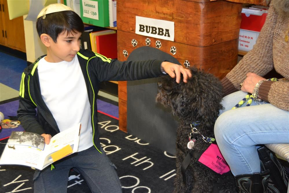 Bubba From BIDEAWEE Visits OES