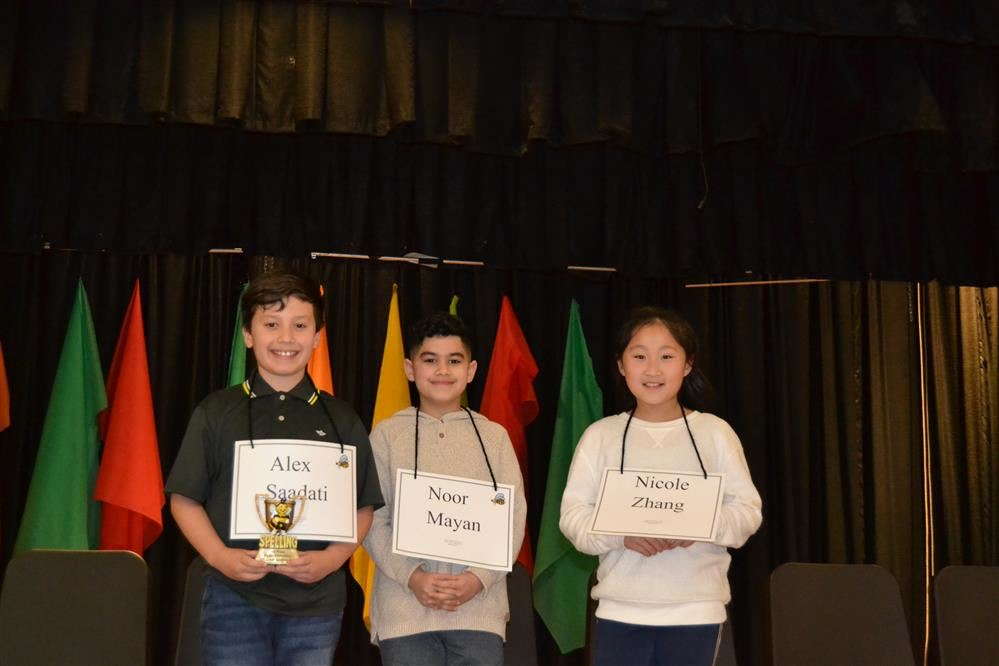 Fourth Grade Spelling Bee