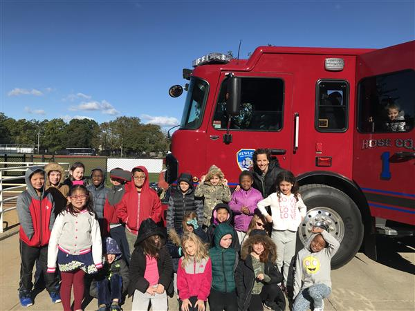 Second Graders Learn Fire Safety